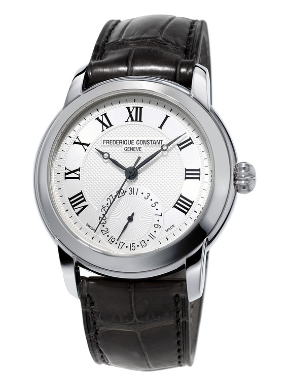Frederique Constant FC-710MC4H6 Classic Manufacture Stainless Steel Silver Dial