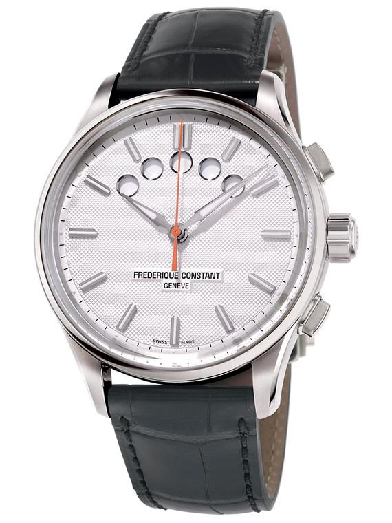 Frederique Constant FC-380VT4H2B Yacht Timer Regatta Countdown Stainless Steel White Dial