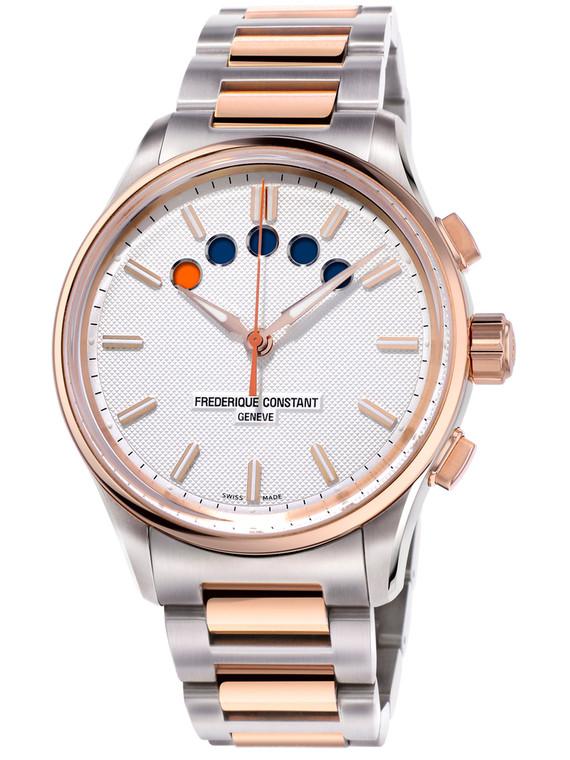 Frederique Constant FC-380ST4H6 Yacht Timer Regatta Countdown Stainless Steel Bracelet
