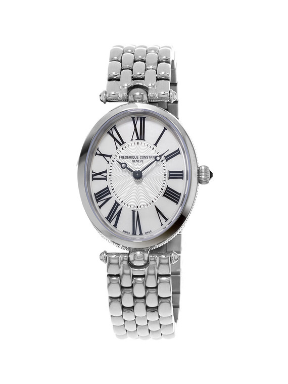 Frederique Constant FC-200MPW2V6B Classics Art Deco Oval Mother of Pearl Stainless Steel