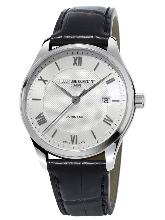Frederique Constant FC-303MS5B6 Classics Index Automatic Stainless Steel Silver Dial
