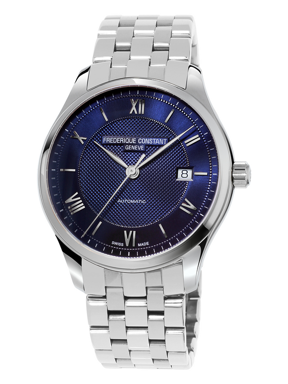 Frederique Constant FC-303MV5B4 Classics Index Automatic Stainless Steel Blue Dial