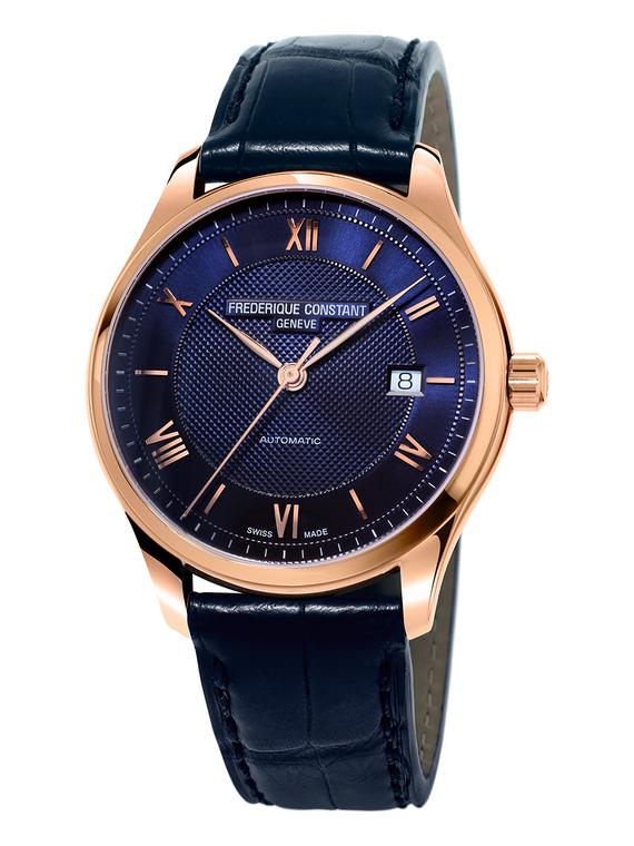 Frederique Constant FC-303MN5B4 Classics Index Automatic Rose Gold Blue Dial