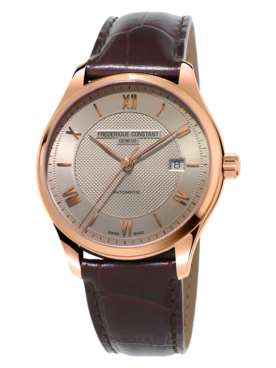 Frederique Constant FC-303MN5B4 Classics Index Automatic Rose Gold Light Grey Dial