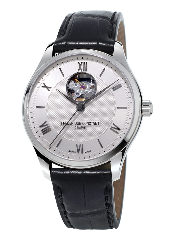 Frederique Constant FC-310MS5B6 Classics Heart Beat Automatic Stainless Steel Silver Dial
