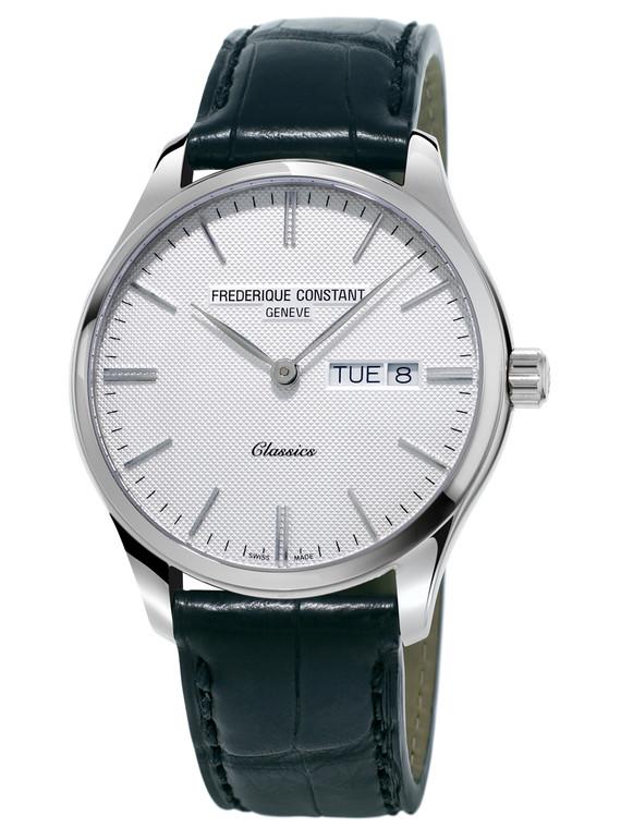 Frederique Constant FC-225ST5B6 Classics Quartz Stainless Steel Silver Dial