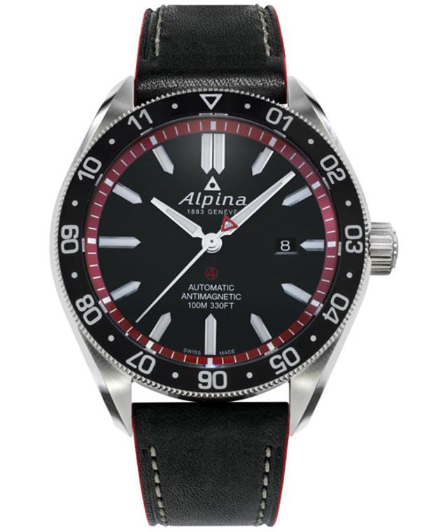 Alpina AL-525BR5AQ6 Alpiner 4 Automatic Black Dial