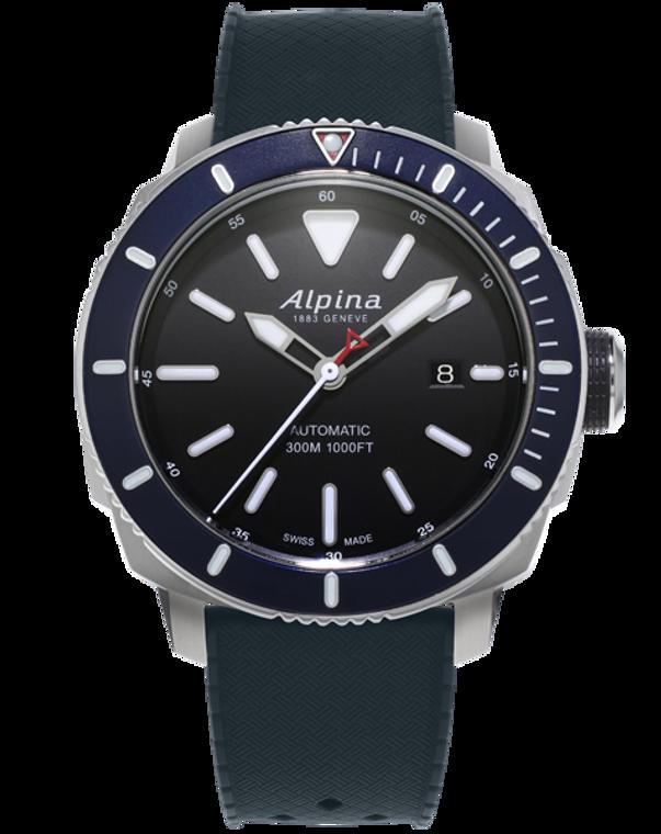 Alpina AL-525LBN4V6 Seastrong Diver 300 Automatic Blue Bezel