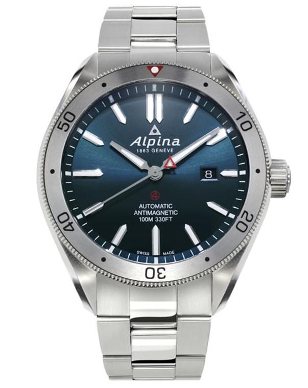 Alpina AL-525NS5AQ6B Alpiner 4 Automatic Blue Dial