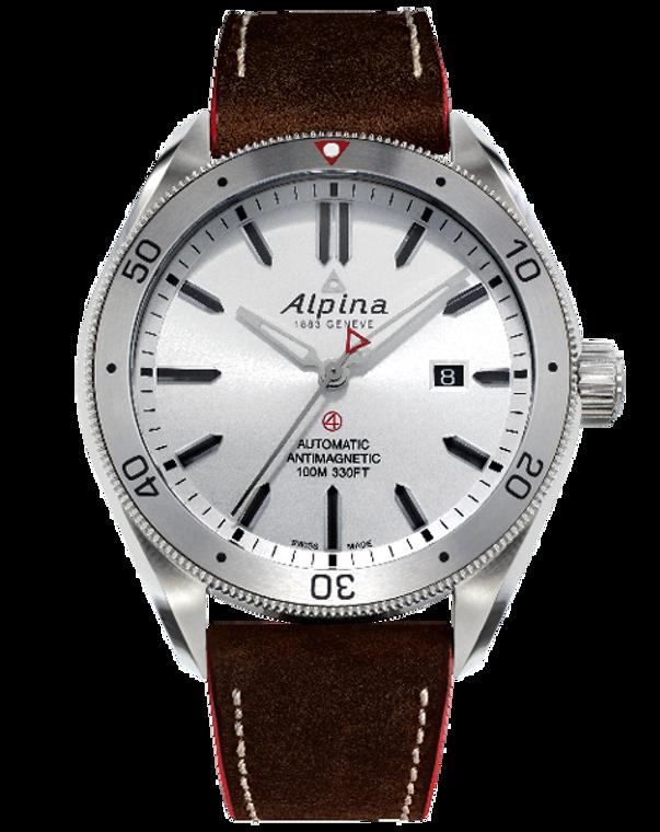 Alpina AL-525SS5AQ6 Alpiner 4 Automatic White Dial