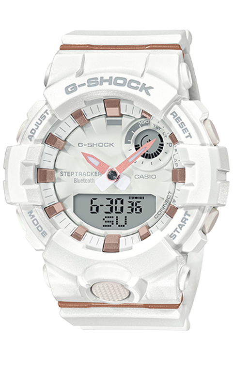 G-Shock GMAB800-7A S Series Bluetooth Step Tracker White Core