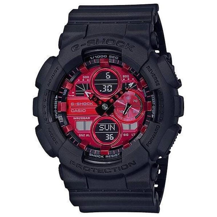 G-Shock GA140BMC-1A Ana-Digi Red Dial