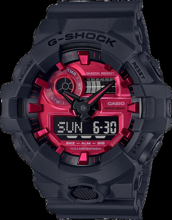 G-Shock GA700AR-1A High Energy Red Dial