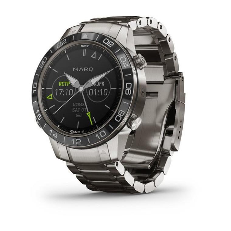 garmin smart watch smartwatch aviator marq tool utility watch