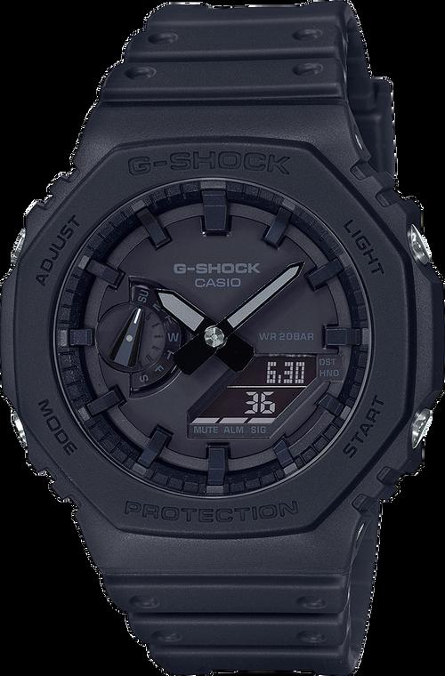 Casio G-Shock GA2100-1A1 Carbon Slim Simple Design