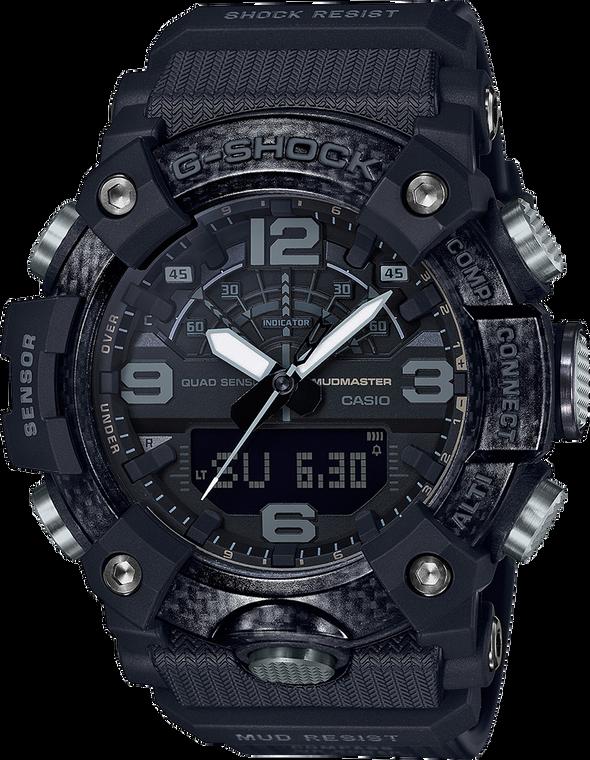 G-Shock GGB100-1B Mudmaster Black Carbon Core