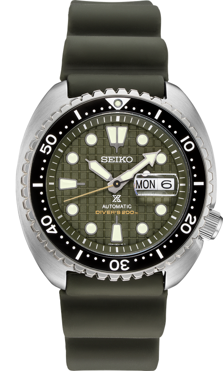 Seiko Prospex SRPE05 King Turtle Green Dial