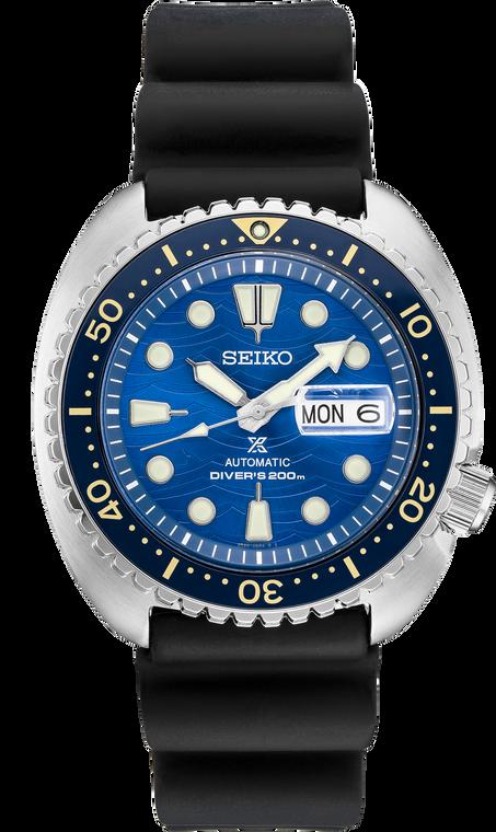 Seiko Prospex SRPE07 King Turtle Blue Shark Fin Dial