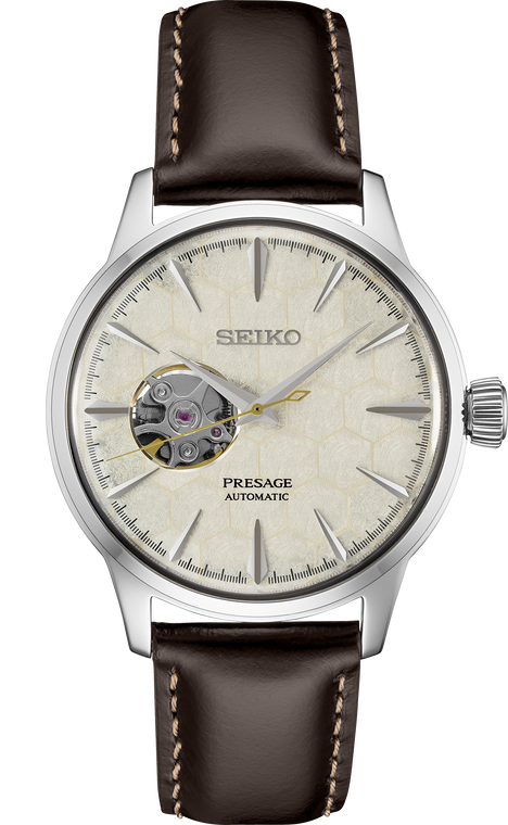 Seiko Presage SSA409 Limited Edition Cocktail Time Honeycomb Power Reserve