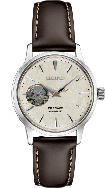 Seiko Presage SSA781 Limited Edition Cocktail Time Honeycomb