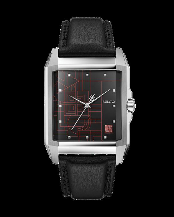 Bulova 96A223 Frank Lloyd Wright Inspired Watch