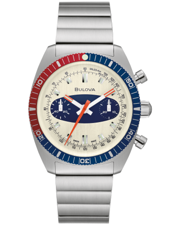 Bulova 98A251 Surfboard Chronograph A Stainless Steel Watch Limited Edition