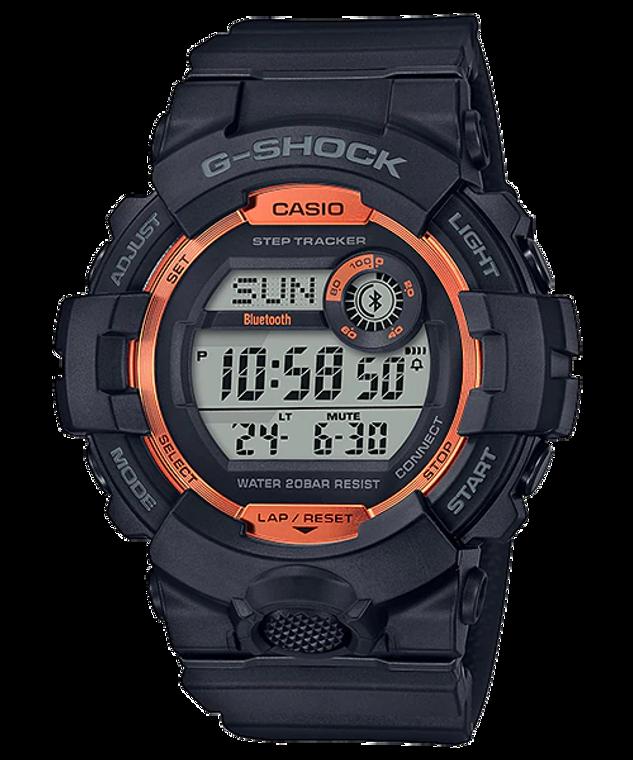 G-Shock GBD800SF-1 G-SQUAD Orange Accent