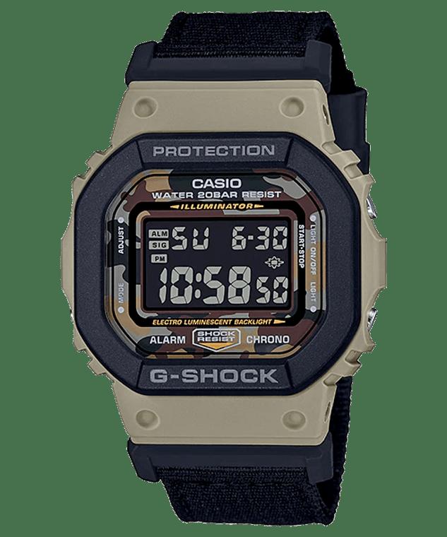 G-Shock DW5610SUS-5 Square Camo Extra Strap