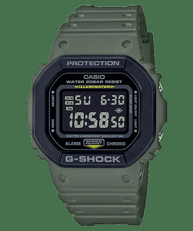 G-Shock DW5610SU-3 Square Army Green