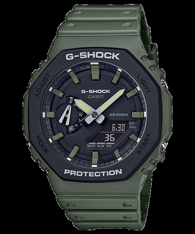 G-Shock GA2110SU-3A CasiOak Green Accent Ultra Thin