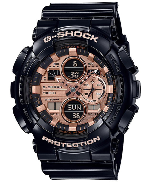 G-Shock GA140GB-1A2 Special Color Models Rose Gold Baby-G