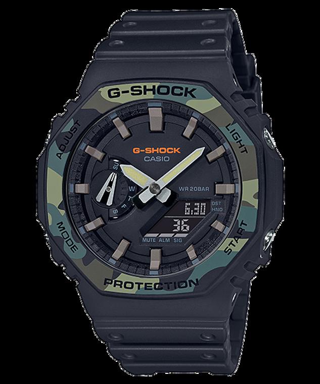 G-Shock GA2100SU-1A CasiOak Camo Accent Ultra Thin