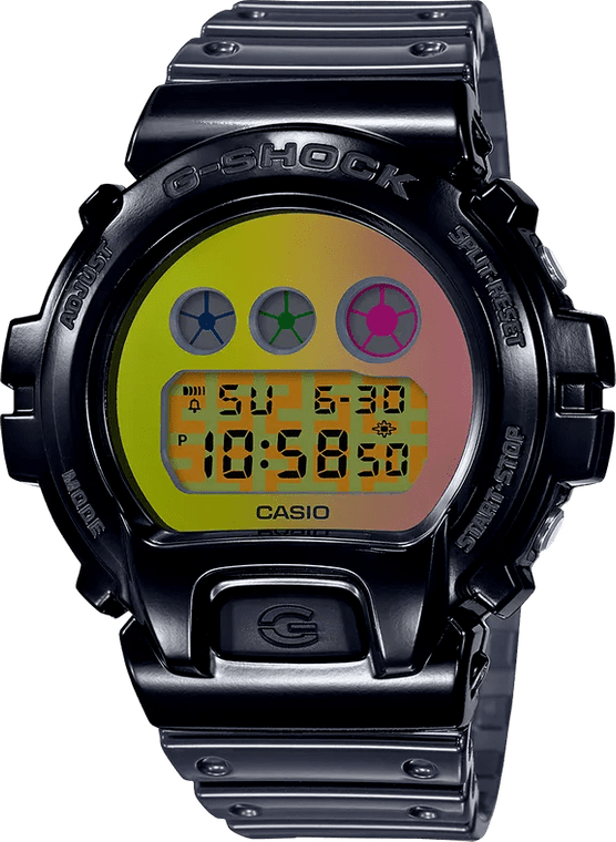 G-Shock DW6900SP-1 25th Anniversary Polarizing Gradation Layer