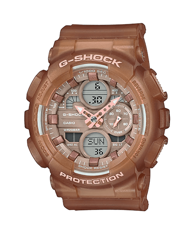 G-Shock GMAS140NC-5A2 Frosted Translucent Pink