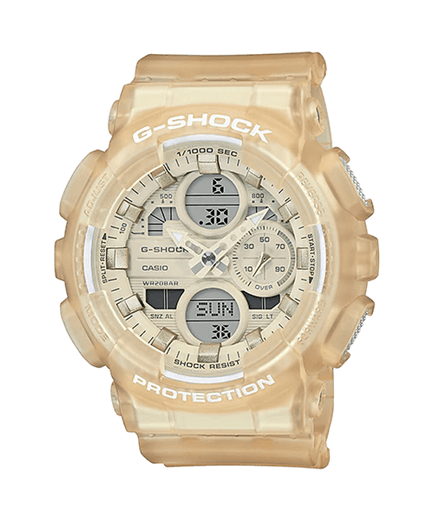 G-Shock GMAS140NC-7A Frosted Translucent Cream