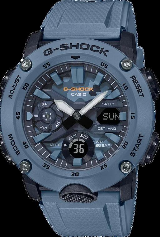G-Shock GA2000SU-2A Utility Color Blue Camo