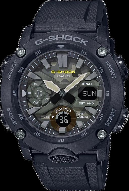 G-Shock GA2000SU-1A Utility Color Green Camo