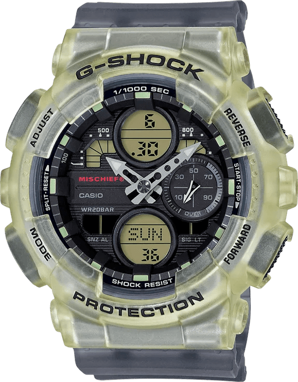G-Shock GMAS140MC-1A Mischief Limited Edition Deadly Combination