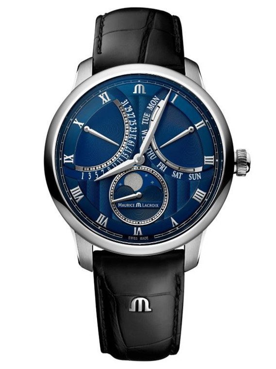 Maurice Lacroix MP6608-SS001-410-1 Masterpiece Moonphase Retrograde 43mm