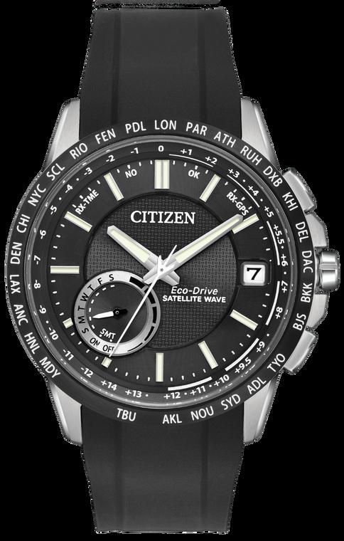Citizen Eco-Drive CC3005-00E Satellite Wave World Time GPS // Pre-Owned