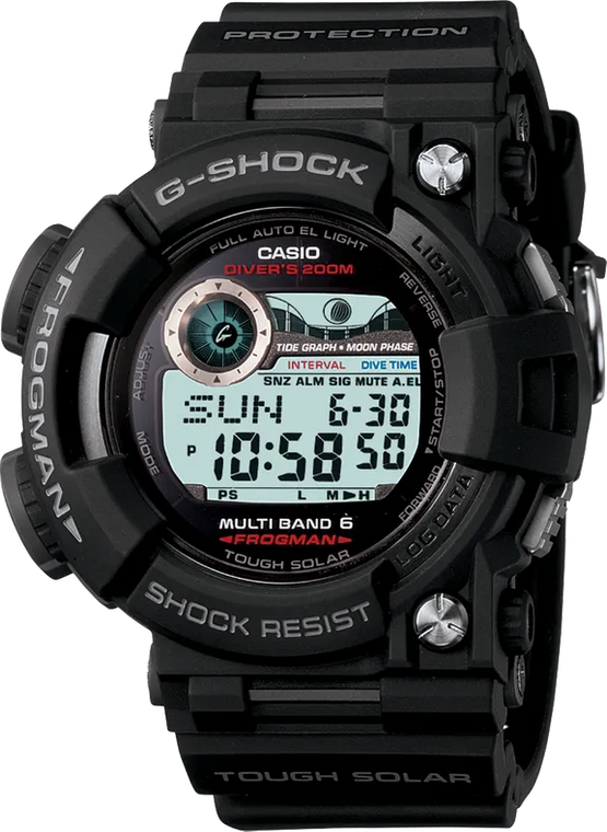 G-Shock GWF1000-1 Frogman  // Pre-Owned