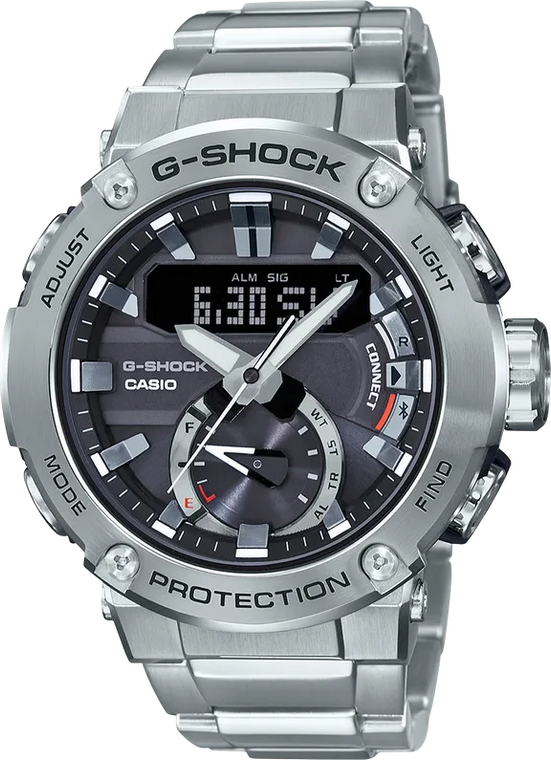 G-Shock GSTB200D-1A G-STEEL Carbon Core // Pre-Owned