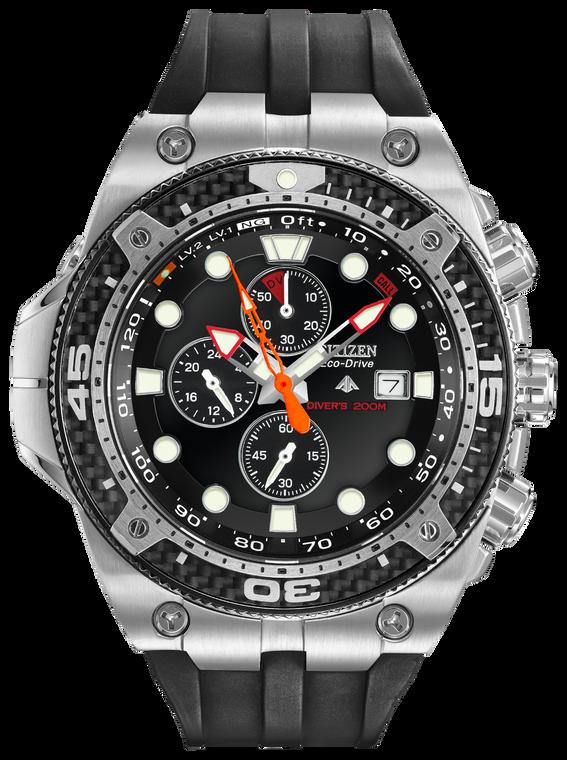 Citizen BJ2135-00E Promaster Depth Meter Chronograph // Preowned