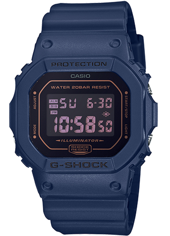 Casio G-Shock DW5600BBM-2 Monotone Finish Full Resin // Pre-owned