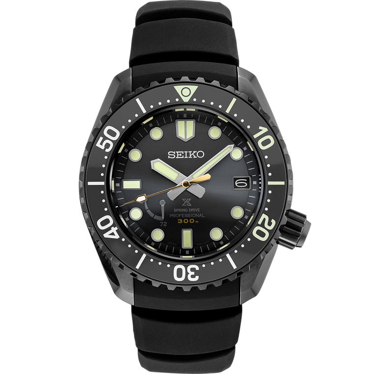 Seiko Prospex SNR043 Spring Drive GMT Power Reserve Black Dial Automatic Limited to 200 Pieces