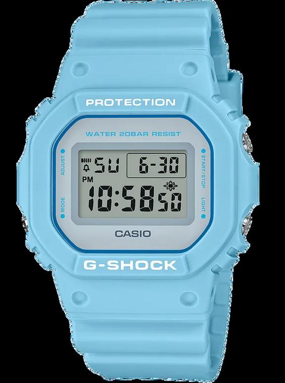 G-Shock DW5600SC-2 Youth Culture Pale Blue Square Face