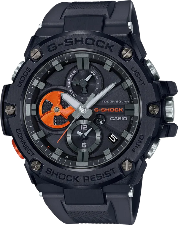 G-Shock GSTB100B-1A4 G-Steel Bluetooth Connected
