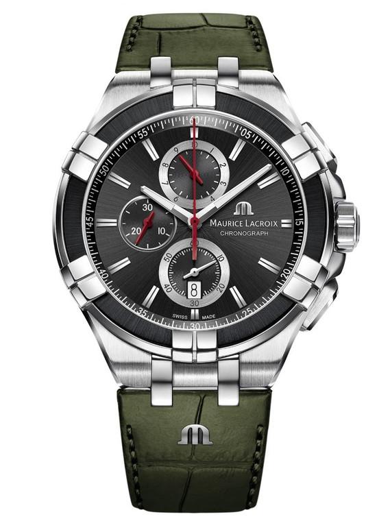Maurice Lacroix AI1018-PVB21-330-1 Aikon Chronograph 43mm
