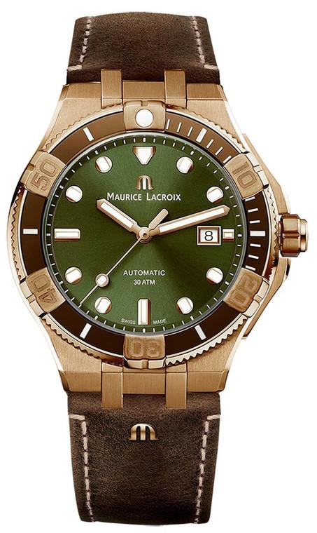 Maurice Lacroix AI6058-BRZ01-630-1 Aikon Automatic 43mm Bronze
