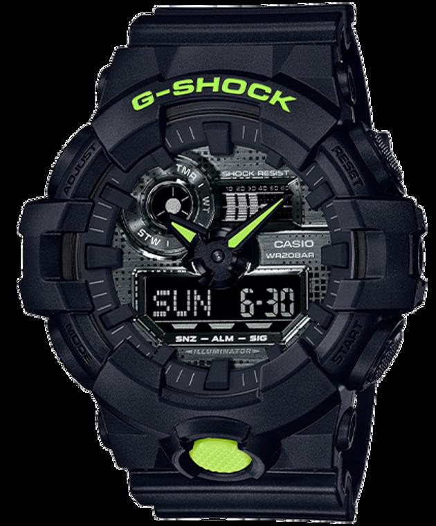 Casio G-Shock GA700DC-1A Ana-Digital Camouflage Metallic Watch